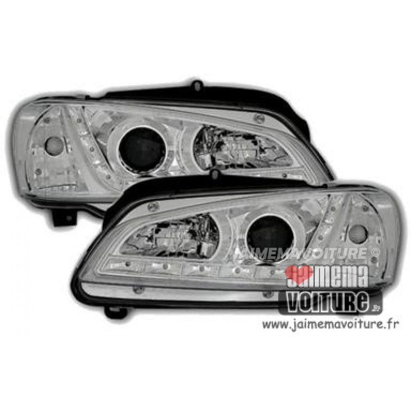Devil eyes pour Peugeot 106 Chrome
