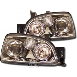 Renault Clio 1 96-98 Angel Eyes - Chrome