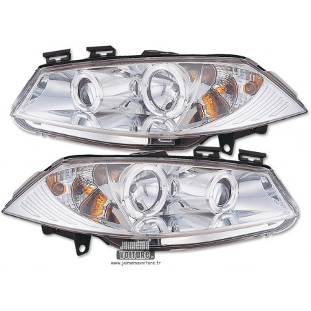 Renault Megane 2 Angel Eyes Sonar - Chrome