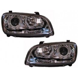 Phares avants angel eyes Toyota Rav 4 1997-2001
