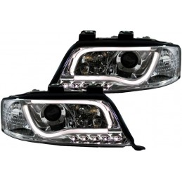 Front headlights tube led Audi A6