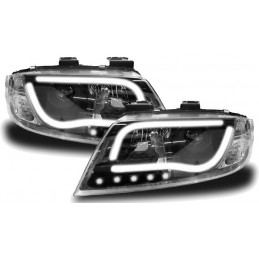 Front lights tuning LTI Audi A6