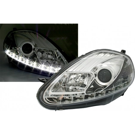 Phares avants led Fiat Grande Punto phase 2