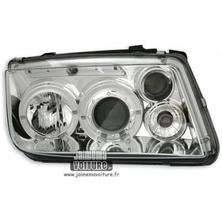 VW Bora Angel Eyes Sonar - Chrome