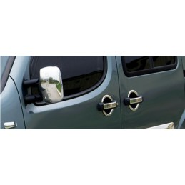 Coque de rétroviseurs chrome 2 Pcs (ABS) FIAT DOBLO