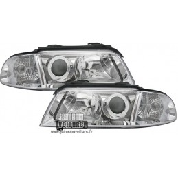 Audi A4/S4 99-01 Phares avants - Chrome