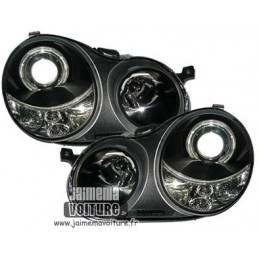 Phare avant angel eyes VW Polo 9N