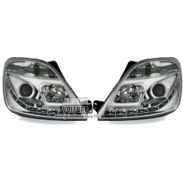 Ford Fiesta MK2 Phares avants a led Sonar Chrome