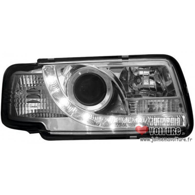 Audi 80 Devil eyes Sonar Chrome