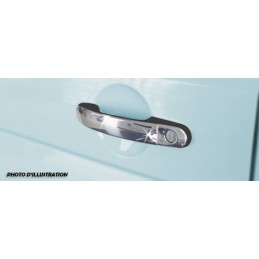 Covers Audi A6 sedan 1997-2004 chrome door handle