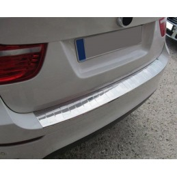 Edge loading chrome BMW X 6 2008 - threshold