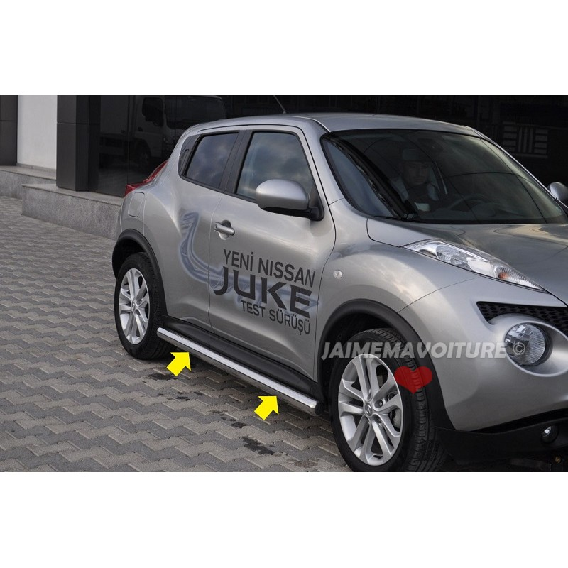 tube lat rale alu pour nissan juke. Black Bedroom Furniture Sets. Home Design Ideas