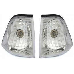 Pair of flashing BMW series 3 E36 sedan Touring Compact Crystal chrome