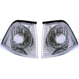 Pair of flashing BMW series 3 E36 sedan Touring Compact Chrome
