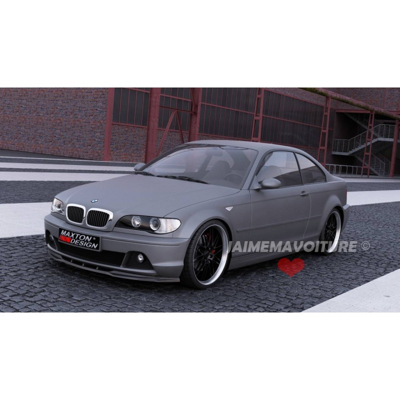 lame pare choc avant bmw s rie 3 e46 coupe facelift. Black Bedroom Furniture Sets. Home Design Ideas