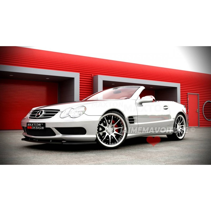 lame pare choc avant mercedes sl r230 amg. Black Bedroom Furniture Sets. Home Design Ideas