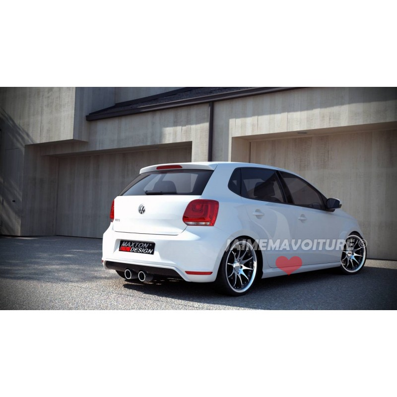 vw polo 6r gti rear spoiler. Black Bedroom Furniture Sets. Home Design Ideas