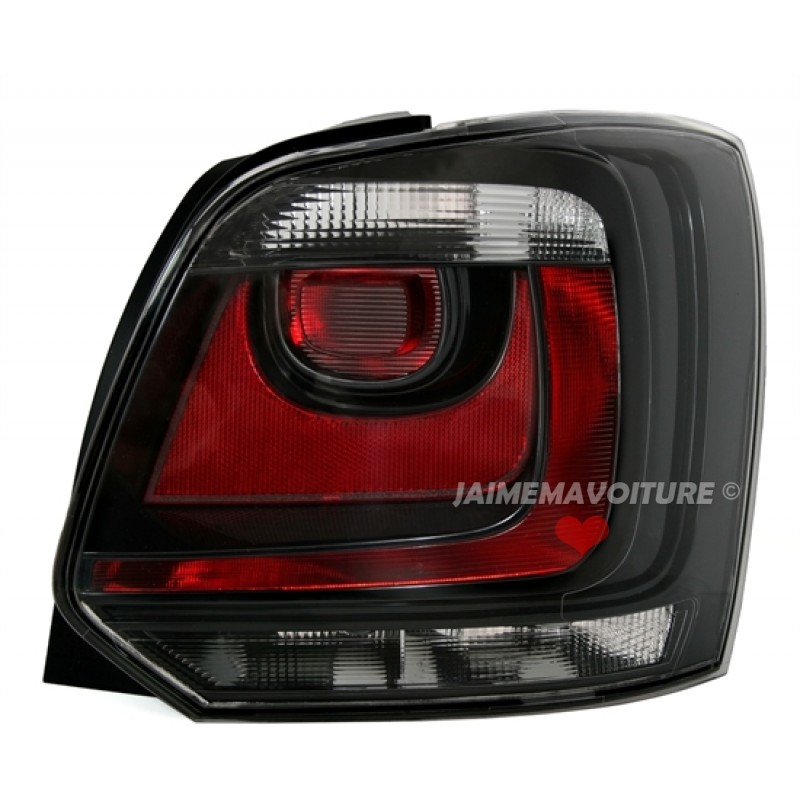 black rear lights vw polo 6r tuning. Black Bedroom Furniture Sets. Home Design Ideas