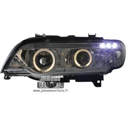 Stein vorne BMW X 5 Angel Eyes Chrom Sonar