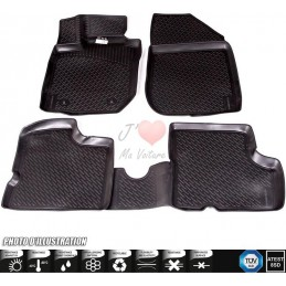 Carpet 3D rubber Audi A5 8T Facelift 8F