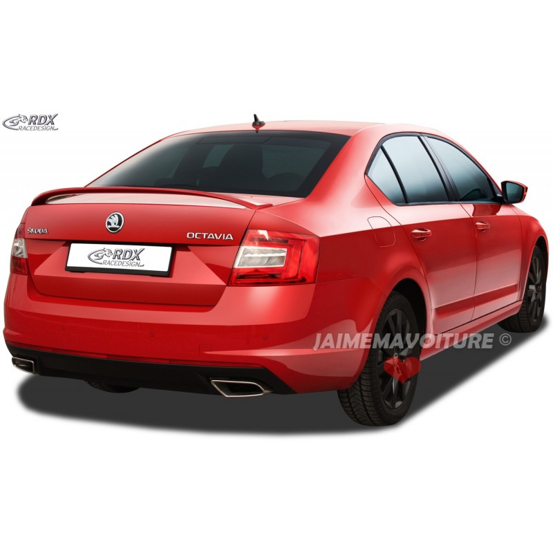 spoiler arri re skoda octavia 3 5e berline rs look. Black Bedroom Furniture Sets. Home Design Ideas