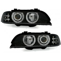 Phares avants Angel Eyes pour BMW Série 5 Led