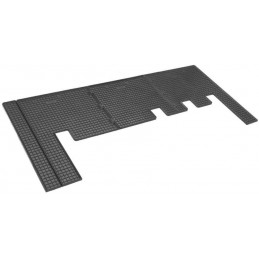 Ford Tourneo Custom third row - 12 rubber mats