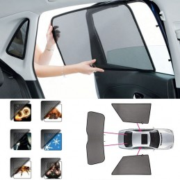 Curtain shield Sun Dacia Sandero Stepway II 5 p - 2013
