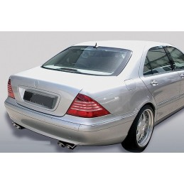 Sorties de pot 2x2 chrome Mercedes Classe S W220