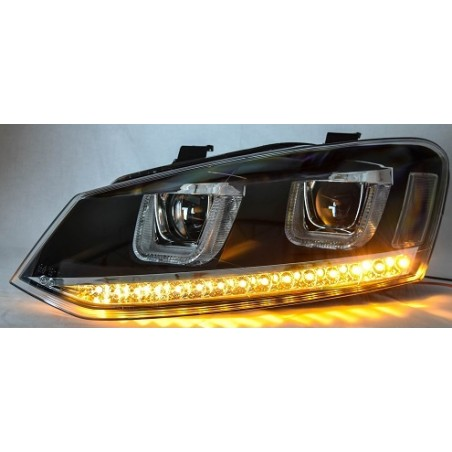 Phares avants led VW Polo 6R clignotant led