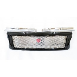 Grille for Range Rover Sport L320 black chrome