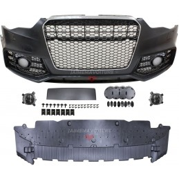 Front bumper for Audi A4 2013-2016 look RS4