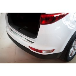 Kia Sportage IV Brushed Aluminum Loading Threshold