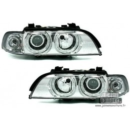Angel eyes E39 Xenon Chrome