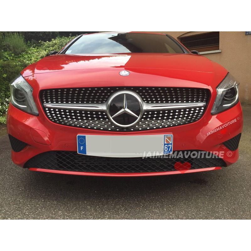 Calandre diamant Mercedes classe A grise