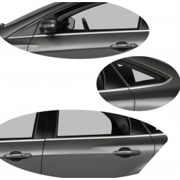 Chrome-plated aluminum window surround FORD FOCUS SW Break