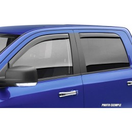 Front deflectors / rear ISUZU D - MAX after 2010