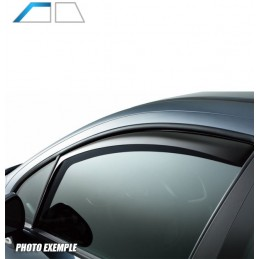 Front deflectors ISUZU D - MAX 4 doors after 2010