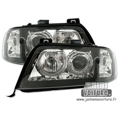 Feux Angel eyes Audi A6 1999-2001