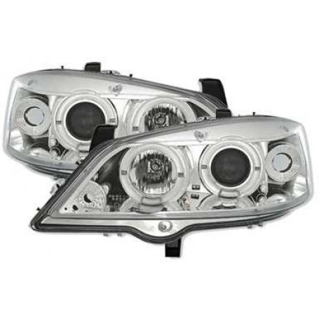 Opel Astra G Feux Angel Eyes Sonar - Chrome