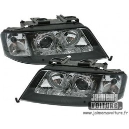 Front headlights angel eyes Audi A6 1997-1999 Xenon