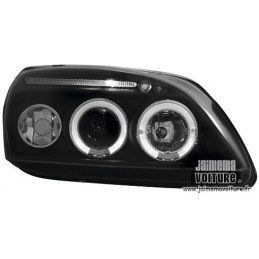Angel eyes Ford Fiesta 99-02 Noir