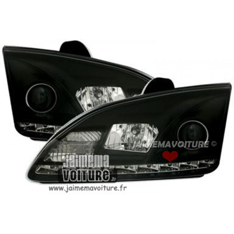 Devil eyes pour Ford Focus 2 Noir
