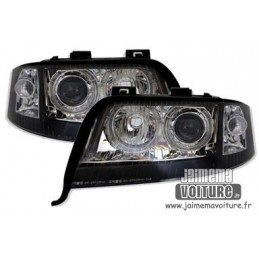 Angel eyes Audi A6 xenon lights