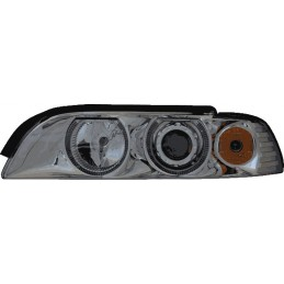 Phares avants angel eyes feux BMW Série 5 E39 518 520 525 530 m5 tuning