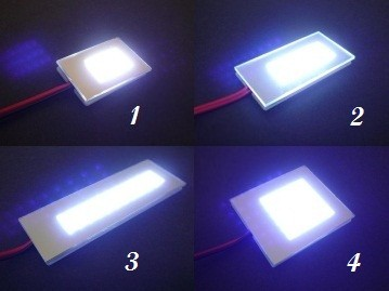 Eclairage de plafonnier voiture xenon ultra blanc