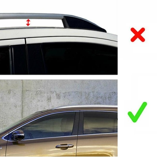 Barres de toit transversales Audi Q8 2018 2019 2020