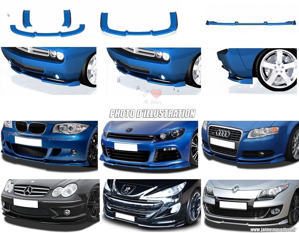Lame de pare choc avant sport pour SEAT Altea 5P-2009 incl. Altea XL